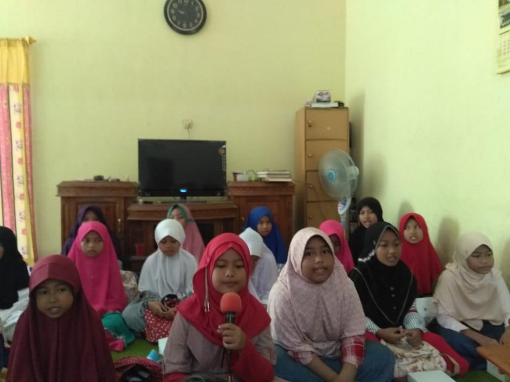 Final Event : Lomba Tahfidz Antar Teman Paguyuban Kelas Tahfidz 5D