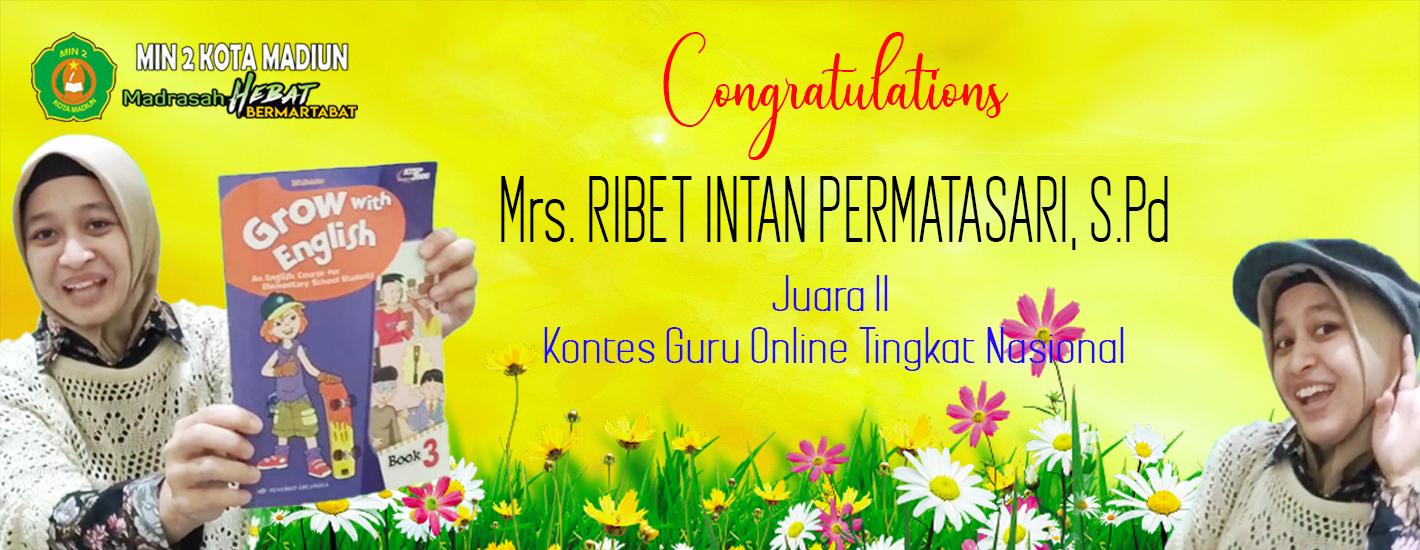 Congratulations Miss Intan