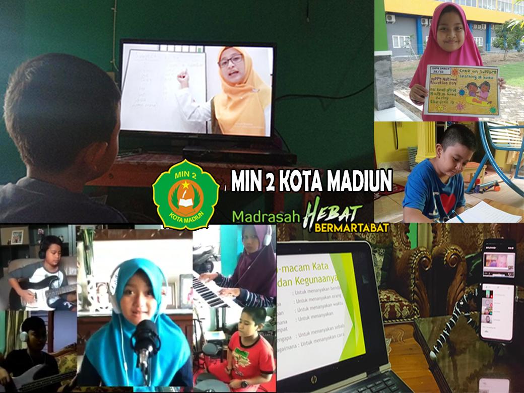 Covid-19 Belum Usai,  Pembelajaran Online MIN 2 Kota Madiun Diperpanjang
