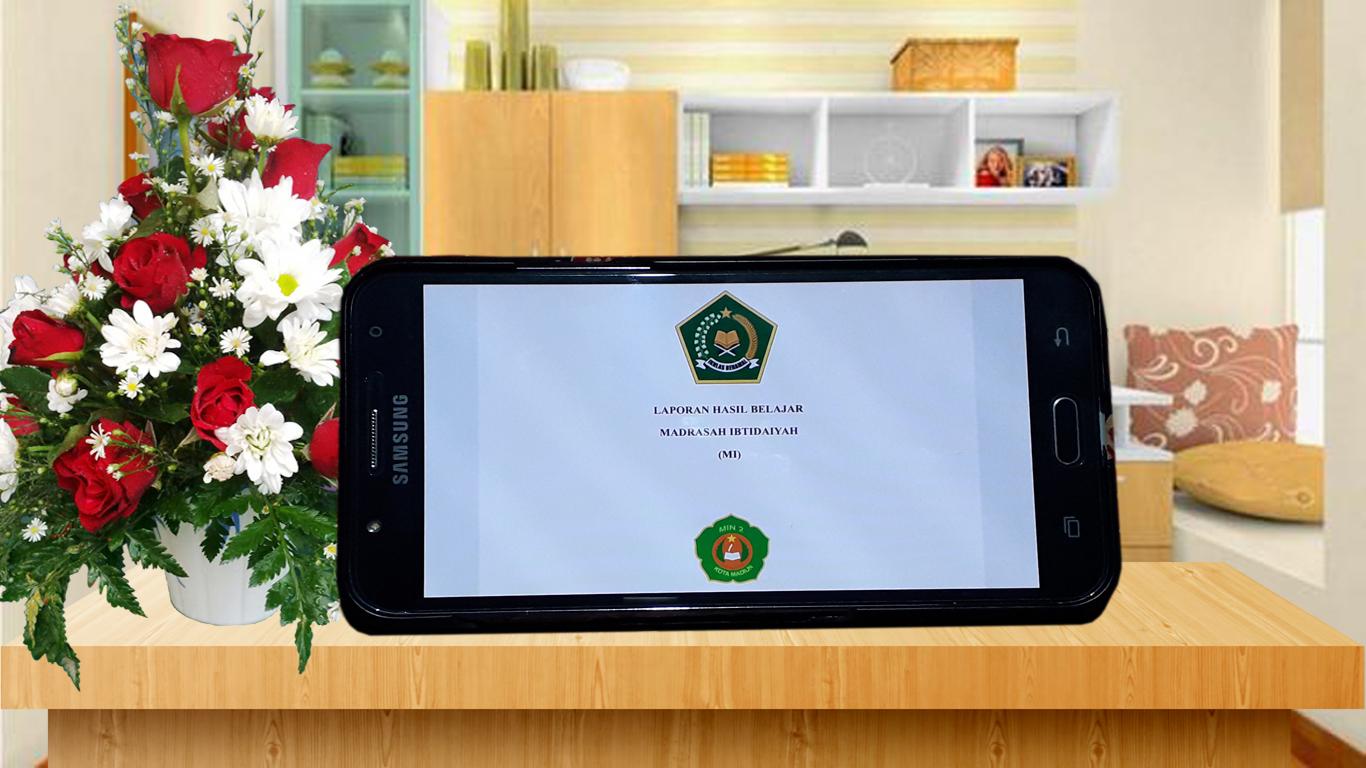 Penerimaan Raport Online MIN 2 Kota Madiun