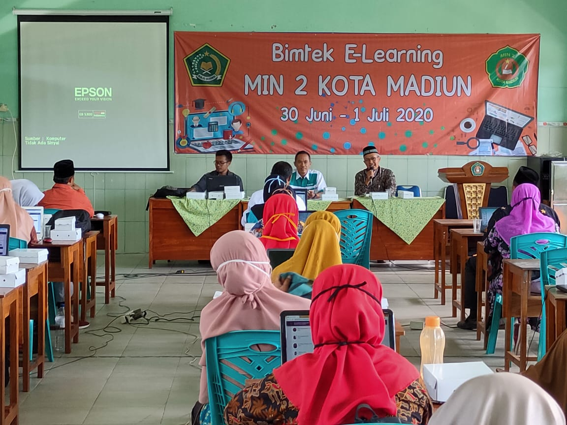 Hadapi New Normal, MIN 2 Kota Madiun selenggarakan Bimtek E-Learning