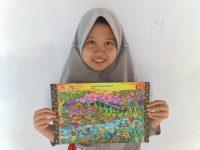 Aulia Juarai Coloring Competition Indonesia Talent Show 3 East Java
