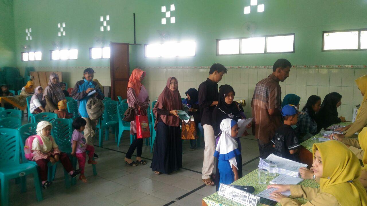 Antusiasme PPDB MIN 2 Kota Madiun Tahun Pelajaran 2018/2019