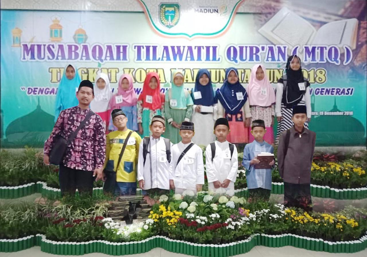 MIN 2 Kota Madiun Panen Juara Pada Ajang Musabaqah Tilawatil Qur'an (MTQ) Tingkat Kota Madiun