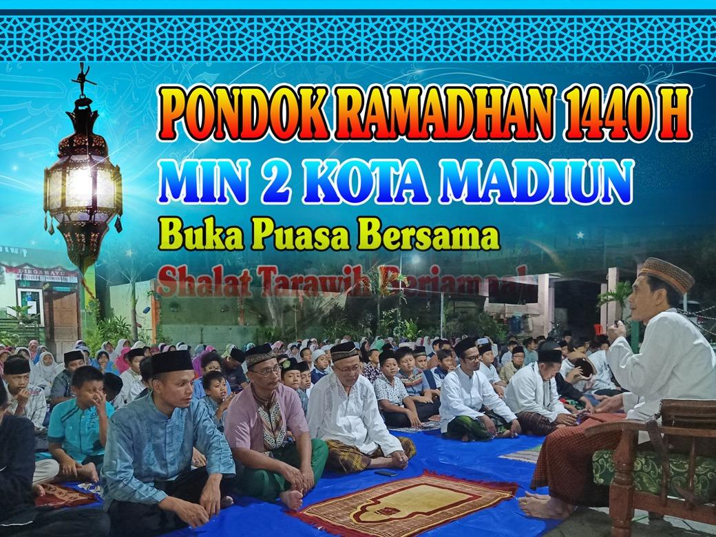 MIN 2 Kota Madiun Tutup Pondok Ramadhan 1440 H Dengan Buka Puasa Bersama dan Shalat Tarawih Berjamaah