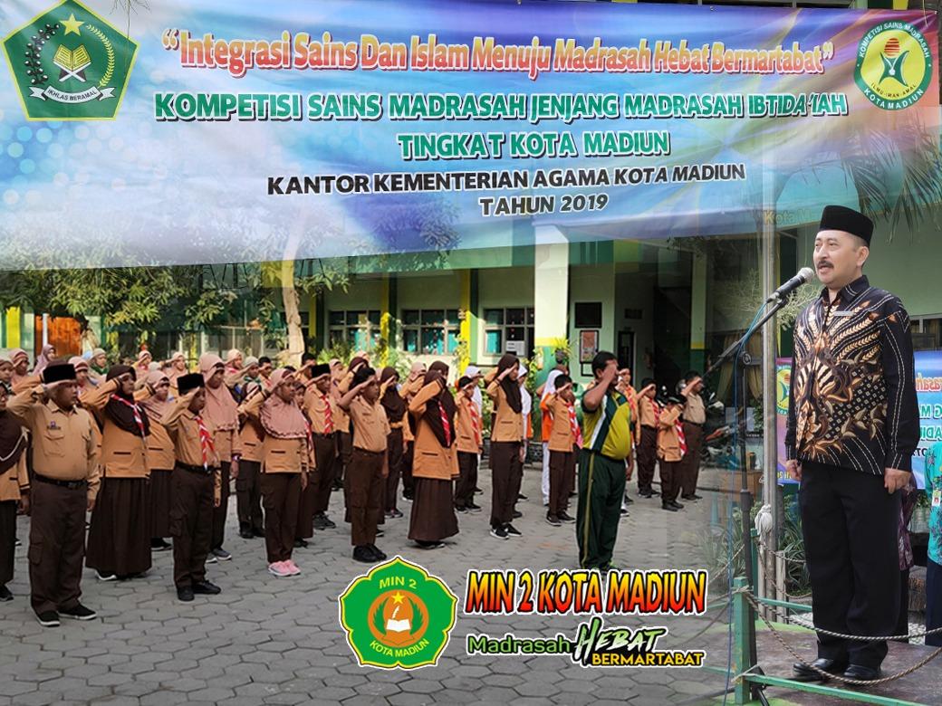 MIN 2  Kota Madiun Menjadi Tuan Rumah KSM Jenjang Madrasah Ibtidaiyah Tingkat Kota Madiun