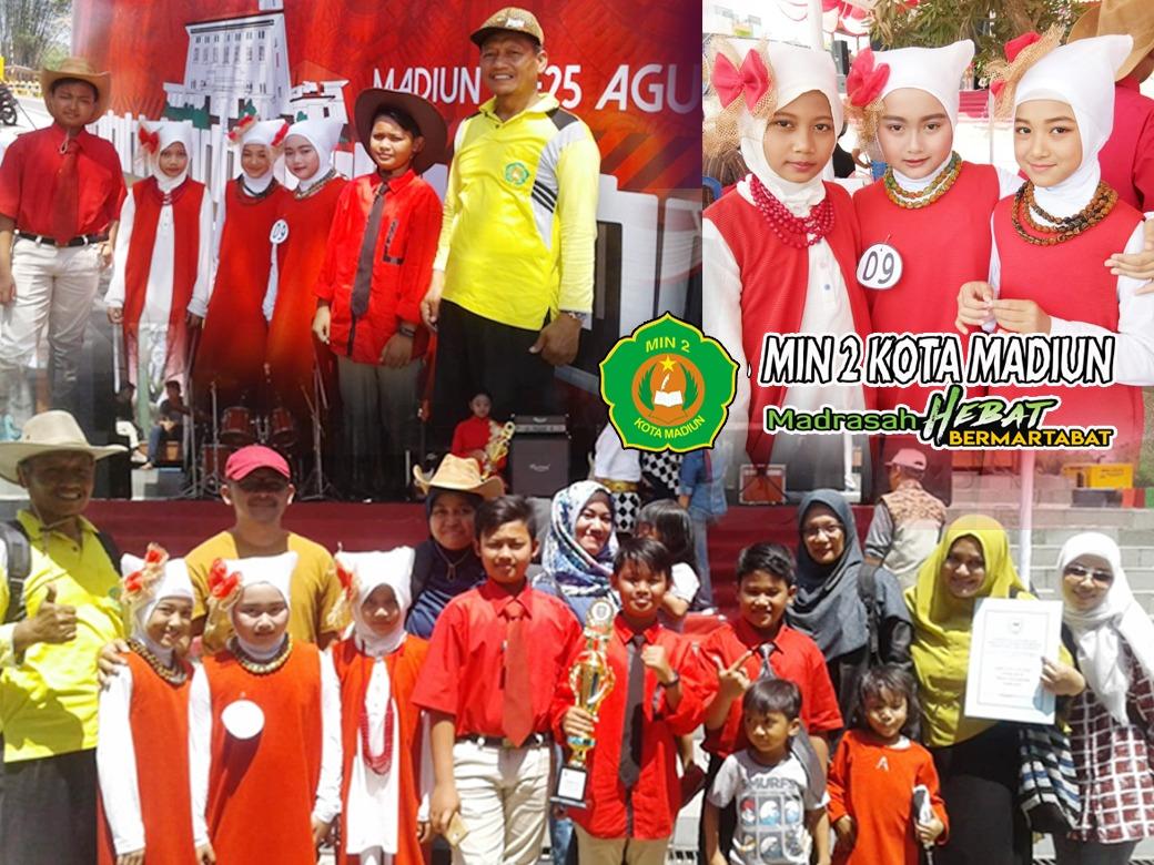 Band Anak MIN 2 Kota Madiun Raih Juara 2 di Ajang Festival Band Pelajar Se-kota Madiun Tahun 2019