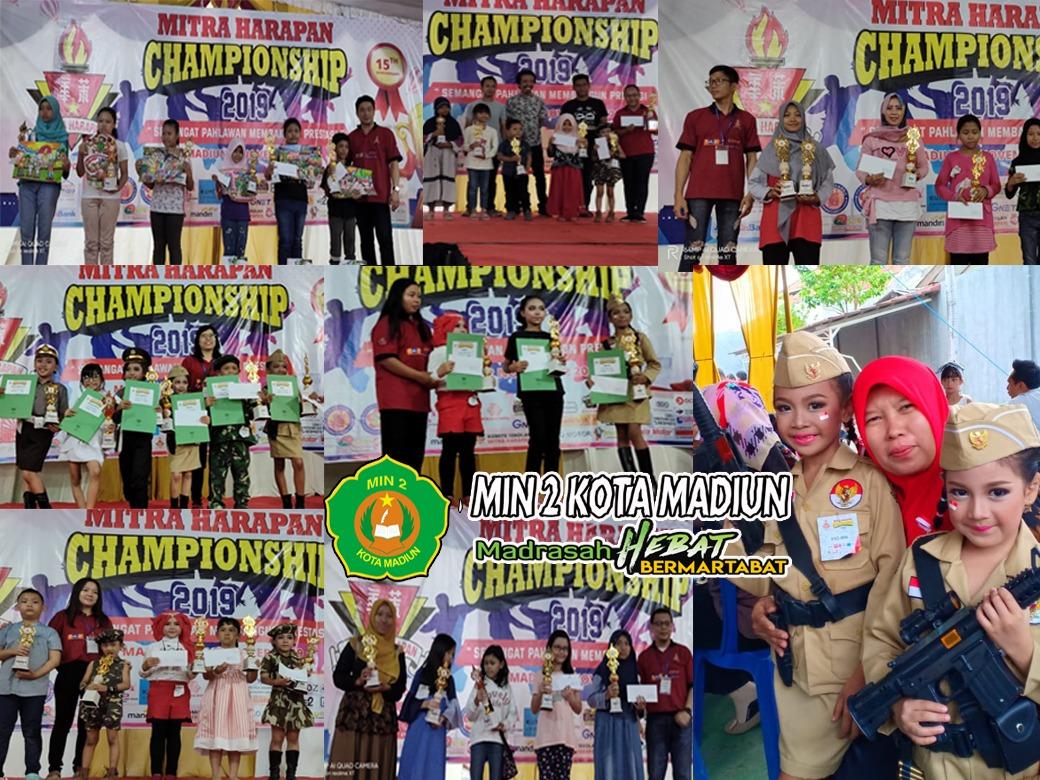 MIN 2 Kota Madiun Berhasil Memborong 13 Piala di Mitra Harapan Championship 2019