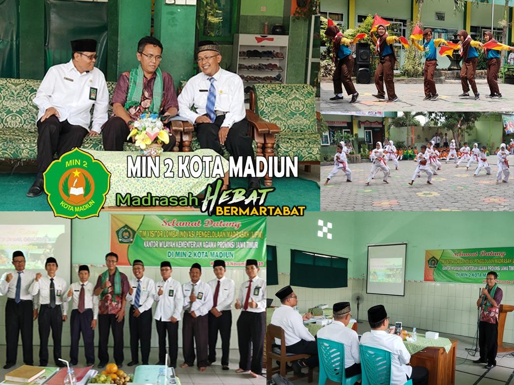 MIN 2 Kota Madiun Terima Kunjungan Tim Visitasi Lomba Inovasi Pengelolaan Madrasah (LIPM) Kantor Wilayah Kementerian Agama Provinsi Jawa Timur