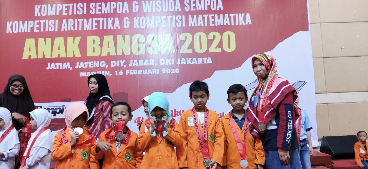20 Siswa MIN 2 Kota Madiun Juara Kompetisi Aritmatika dan Matematika Anak Bangsa 2020