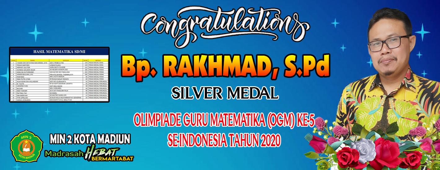 Juara Olimpiade Guru Matematika (OGM) Ke-5 Tahun 2020