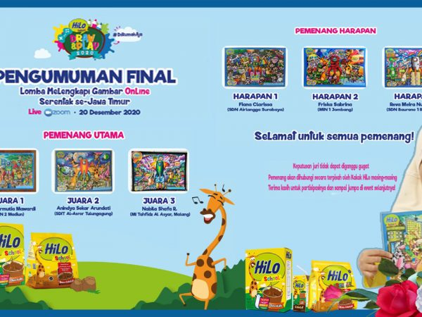 Aulia, Raih Juara I HiLo School Draw and Play 2020 Tingkat Provinsi Jawa Timur