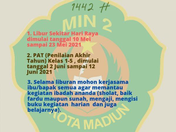 Info Sekitar Libur Idul Fitri 1442